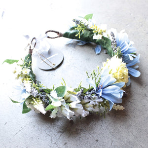 rock n rose -  cambridge handmade floral meadow crown headband - shophearts - 1