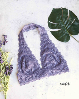 free people - intimately FP Galloon lace halter bralette - more colors
