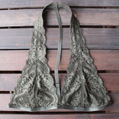 intimate lace halter t-strap bralette (8 colors) - shophearts - 7