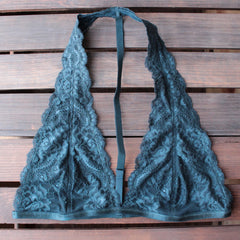 intimate lace halter t-strap bralette (8 colors) - shophearts - 10