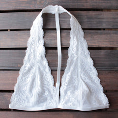 intimate lace halter t-strap bralette (8 colors) - shophearts - 11