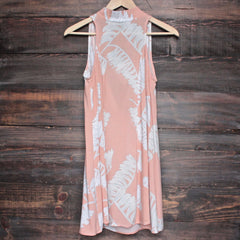 jungle fever dress - peach - shophearts - 1