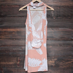 jungle fever dress - peach - shophearts - 2