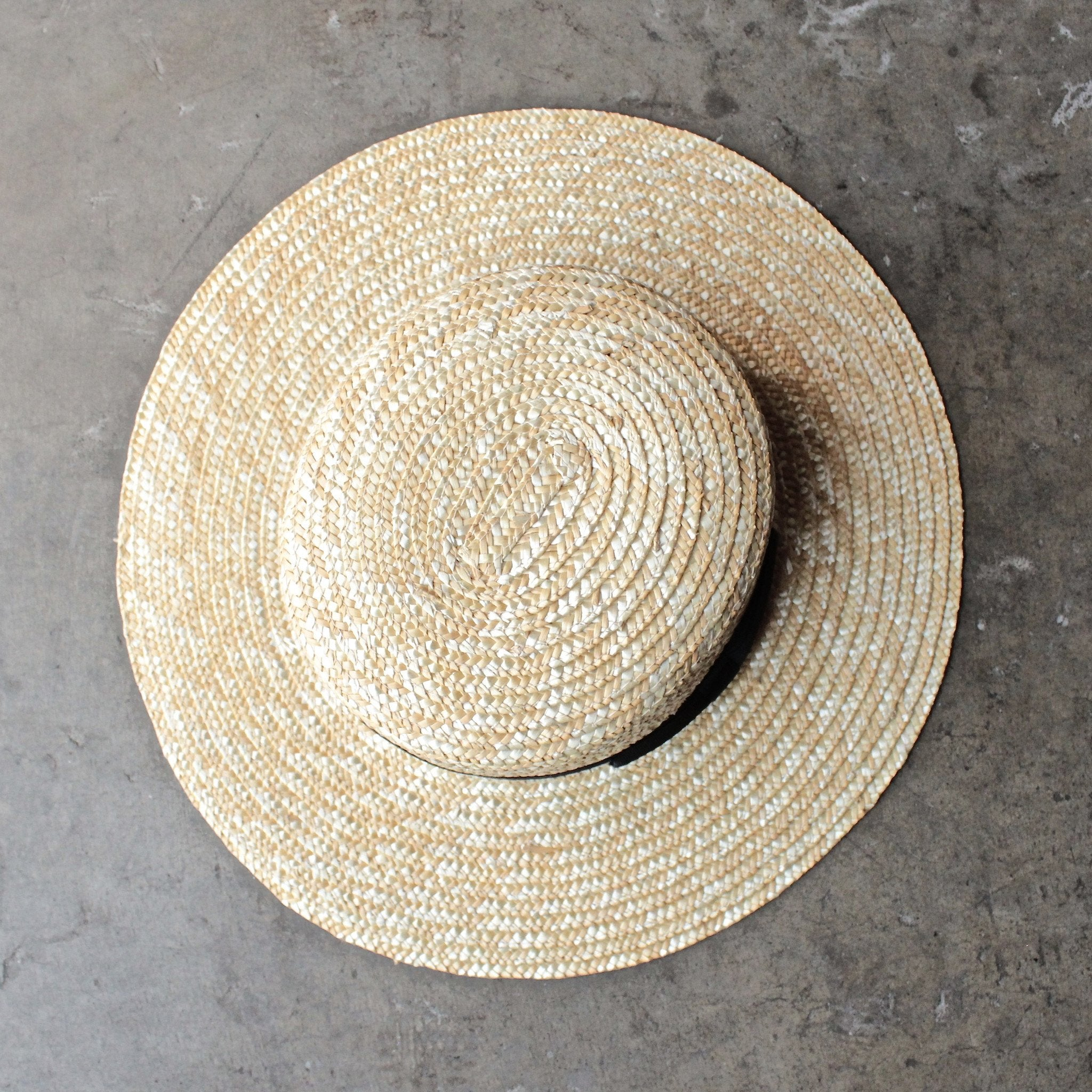 Lack of Color - The Spencer Straw Boater Hat - shophearts - 1