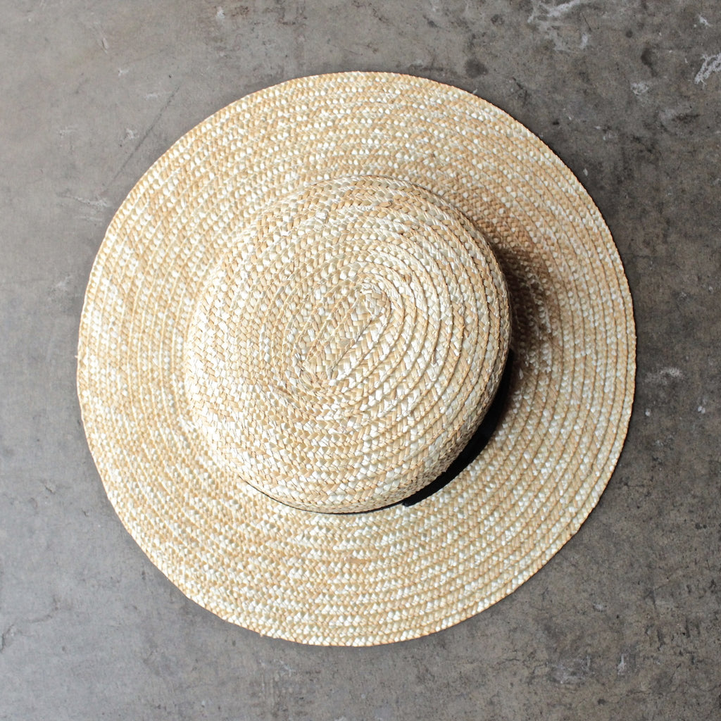 62b4dc139b3b0 Lack of Color - The Spencer Straw Boater Hat - shophearts - 1