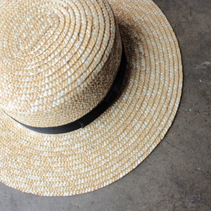 Lack of Color - The Spencer Straw Boater Hat - shophearts - 2