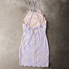up all night scallop edge lace dress - lilac - shophearts - 1