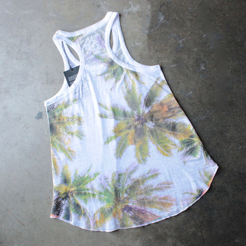 chaser - las palmas palm tree burnout tank - shophearts - 2