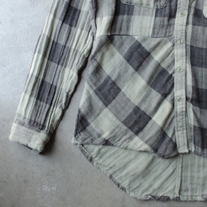 sea gypsies - coney button front plaid shirt - shophearts - 3