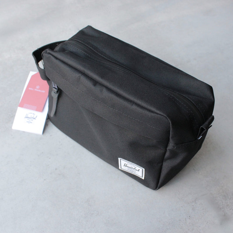 Herschel Supply - chapter travel kit - black - shophearts - 1