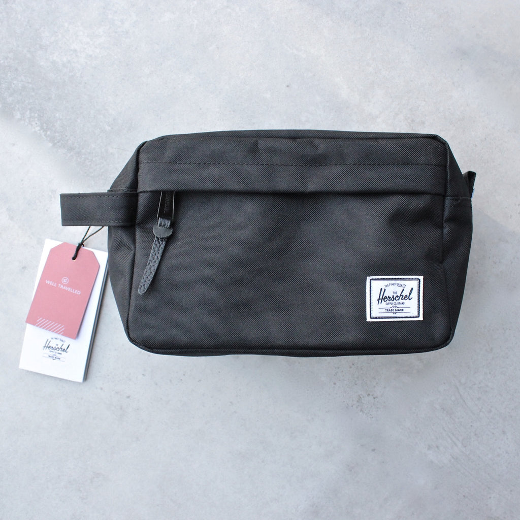 Herschel Supply - chapter travel kit - black - shophearts - 2
