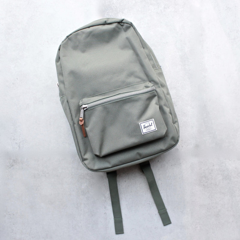 Herschel Supply - Settlement Backpack | Mid-Volume - Deep Lichen Green - shophearts - 1