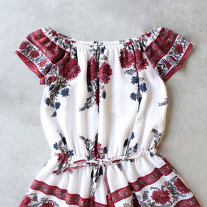 reverse - off the shoulder romper - shophearts - 3