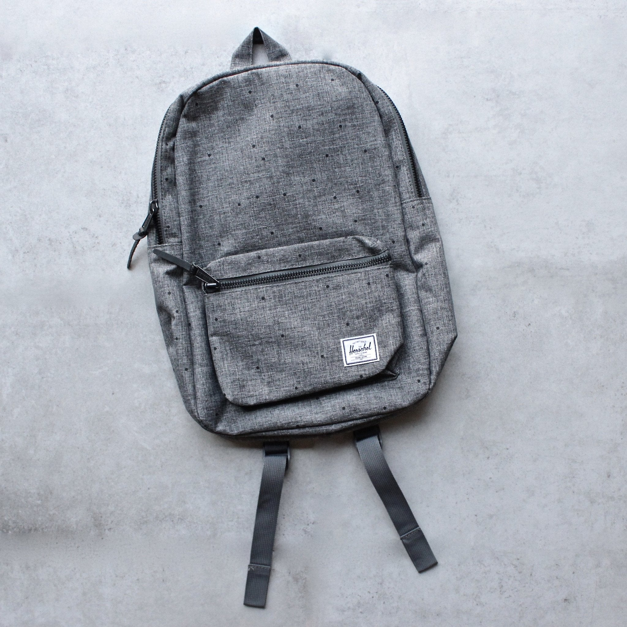 f0f308d1f0b Herschel Supply co. Settlement Raven Crosshatch Backpack - shophearts