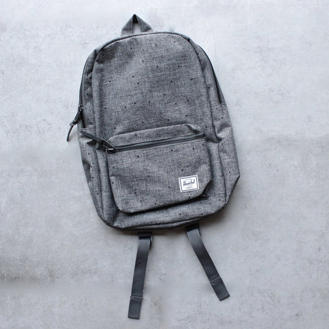 Herschel Supply - Settlement Backpack | Mid-Volume - Raven Crosshatch - shophearts - 1