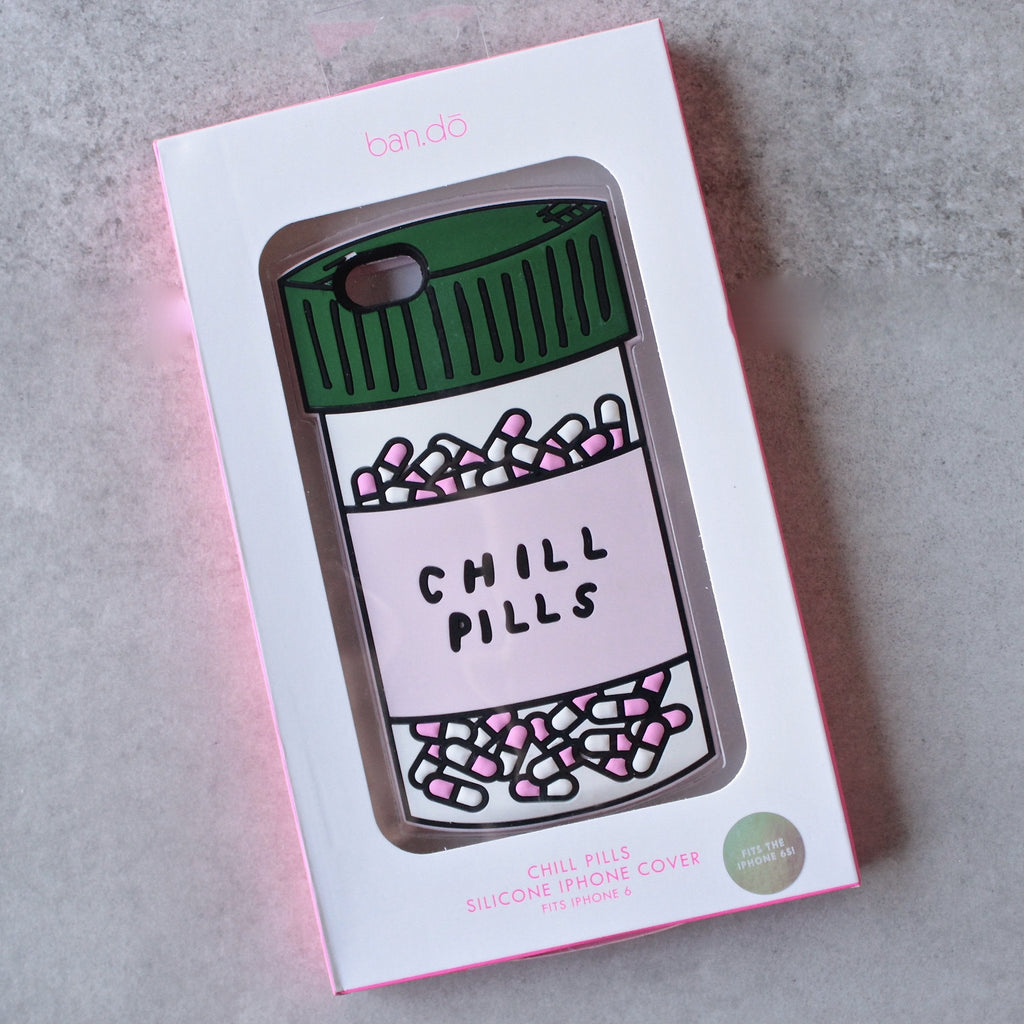 ban.do 'chill pills' iphone 6 & 6s cases - shophearts - 2