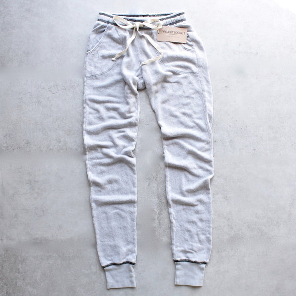 project social t - big sur jogger - mineral wash stone + black - shophearts