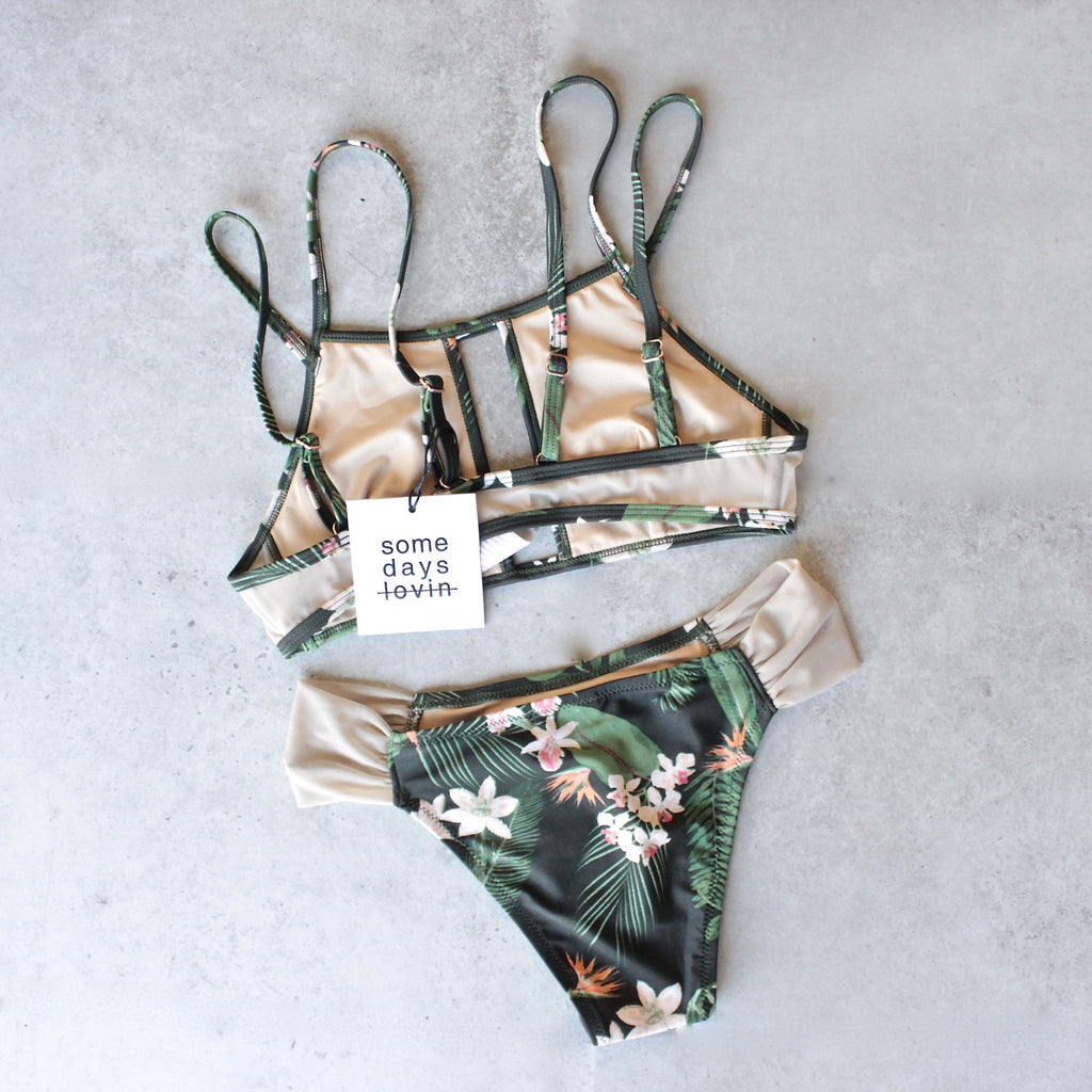 somedays lovin - in paradise strappy bikini separates - mix & match - shophearts - 2