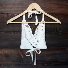 bohemian crochet crop top - shophearts - 2