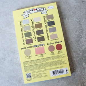 theBalm cosmetics - Travel Friendly Balm Jovi Rockstar Face Palette - shophearts - 6