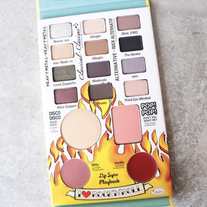 theBalm cosmetics - Travel Friendly Balm Jovi Rockstar Face Palette - shophearts - 3