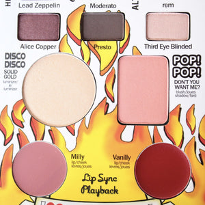 theBalm cosmetics - Travel Friendly Balm Jovi Rockstar Face Palette - shophearts - 8