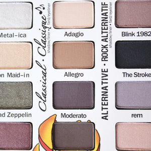 theBalm cosmetics - Travel Friendly Balm Jovi Rockstar Face Palette - shophearts - 2