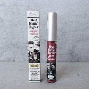 theBalm - Meet Matte Hughes Lip Color - Charming - shophearts - 1