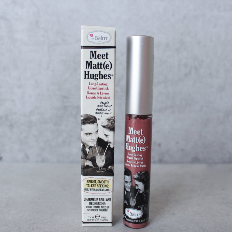 theBalm - Meet Matte Hughes Lip Color - Committed - shophearts - 1