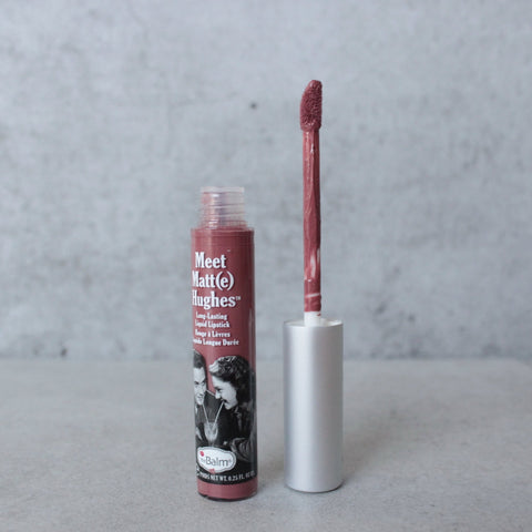 theBalm - Meet Matte Hughes Lip Color - Sincere - shophearts - 1