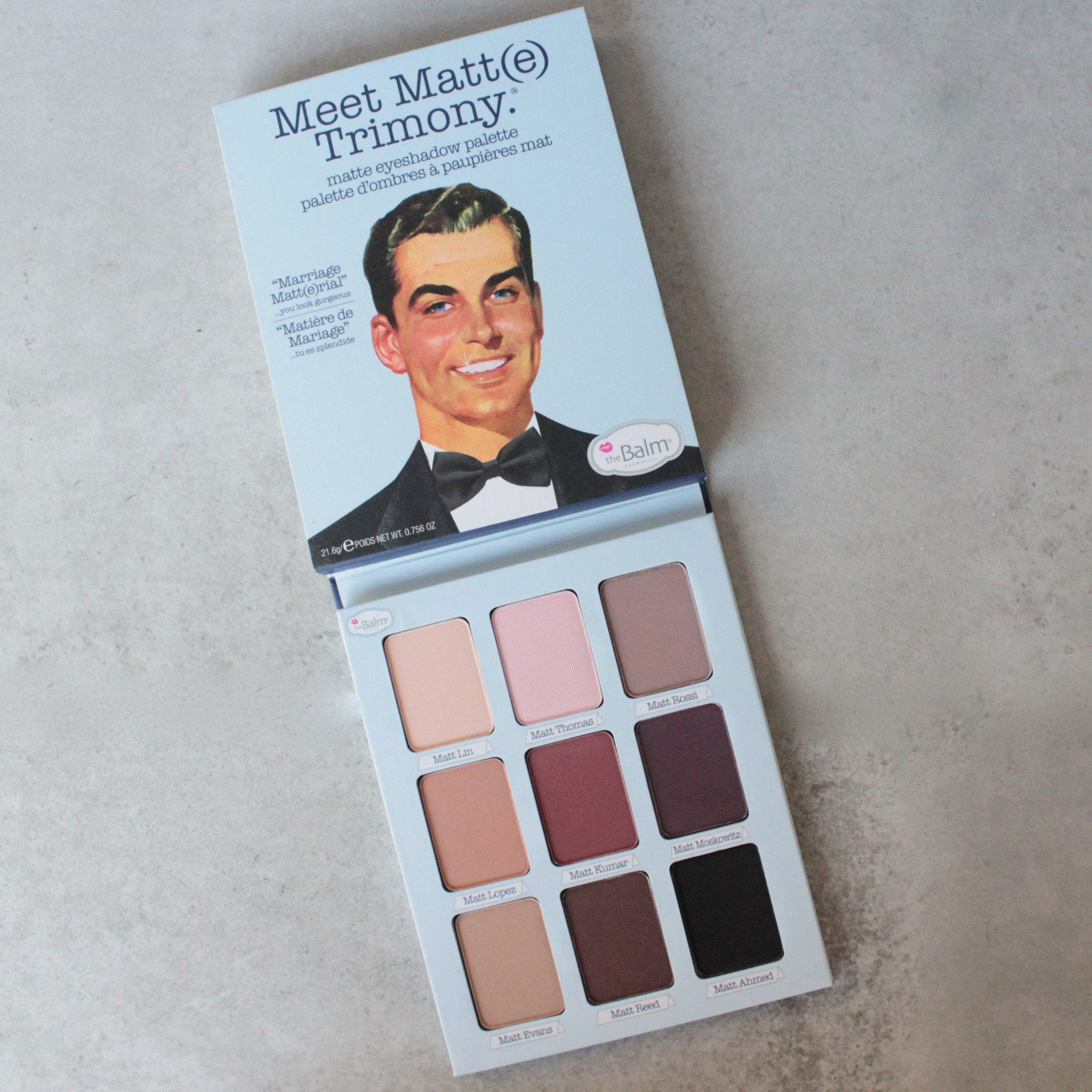 theBalm cosmetics - Meet Matte Trimony Eyeshadow Palette - shophearts - 1