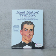 theBalm cosmetics - Meet Matte Trimony Eyeshadow Palette - shophearts - 3