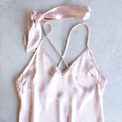 reverse - choker slip dress - light pink - shophearts - 2