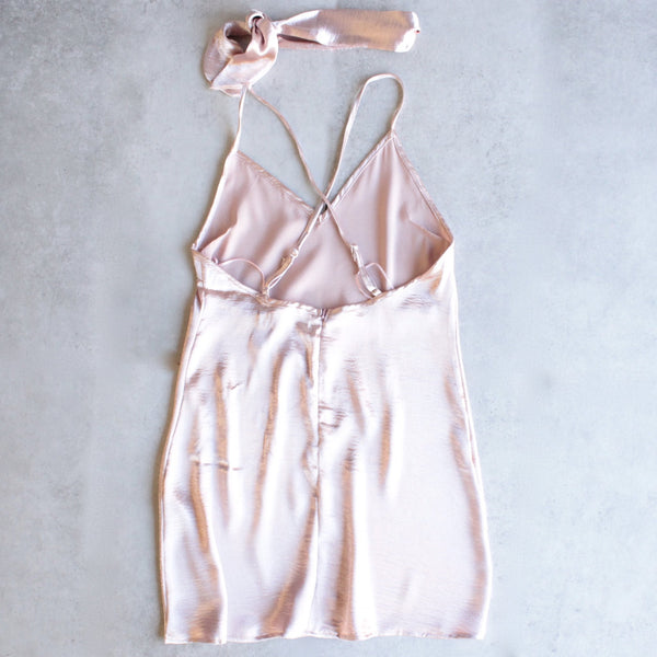 reverse - choker slip dress - light pink - shophearts - 3