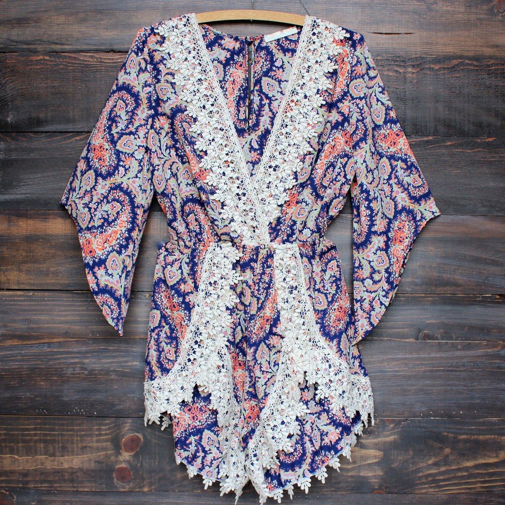 dream catcher paisley romper - shophearts - 1