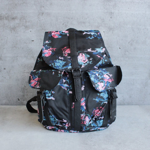 herschel supply co. - womens dawson backpack - floral blur - shophearts - 1