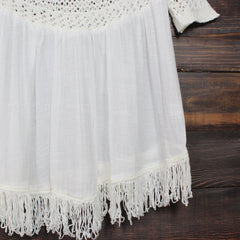 desert wanderer knit tunic in ivory - shophearts - 3