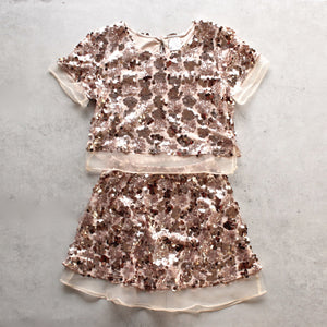 set the tone sequin disc separates- rose gold - shophearts - 1