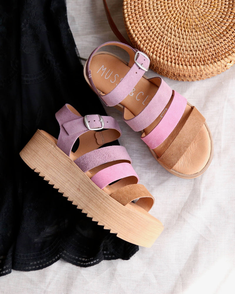 musse & cloud - 'kaila' platform sandals - lilac