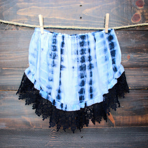 sale - festival ready boho chic tie dye crop top - shophearts - 1