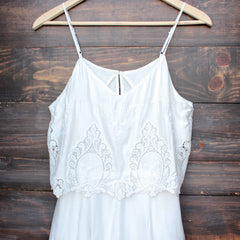 The Jetset Diaries - without suspense romper in white - shophearts - 3