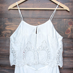 The Jetset Diaries - without suspense romper in white - shophearts - 4