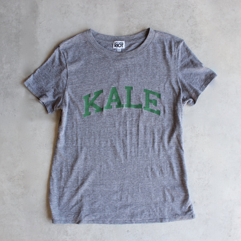 sub_urban riot - kale loose crew neck tee - heather grey - shophearts - 1