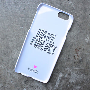 i am very busy - iphone 6 case - shophearts - 2