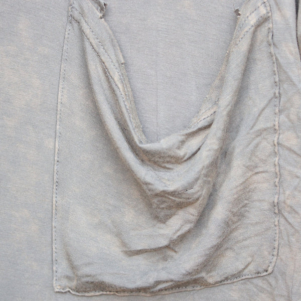 oversize distressed tee - vintage acid wash - shophearts - 5