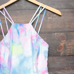 tie dye the watercolor romper - shophearts - 3