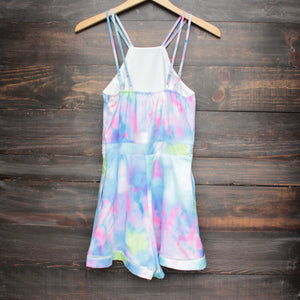 tie dye the watercolor romper - shophearts - 2