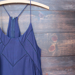 bohemian day dress - navy - shophearts - 3