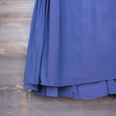 bohemian day dress - navy - shophearts - 4