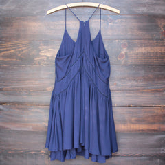 bohemian day dress - navy - shophearts - 2